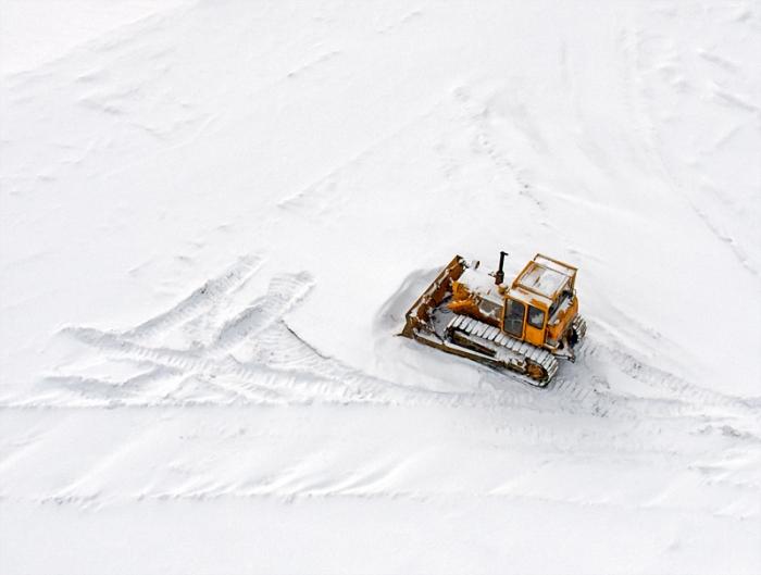 Bulldozer (Sky view)