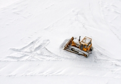 Bulldozer (Sky view)
