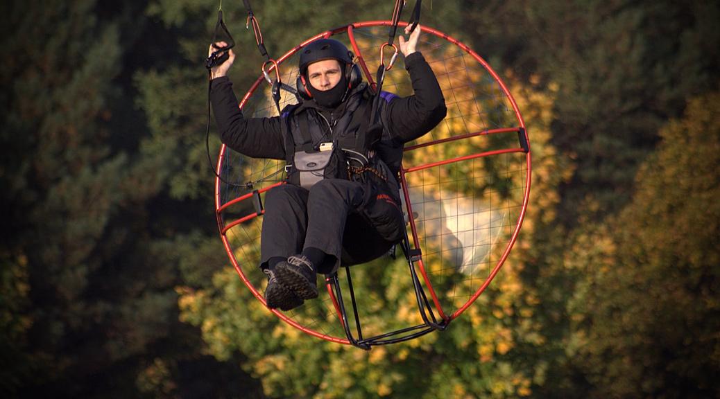 Aerial photographer Marek Samojeden